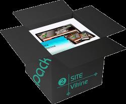Pack Site Vitrine