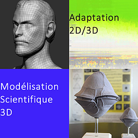 ARTS 3D Modelisation Scientifique